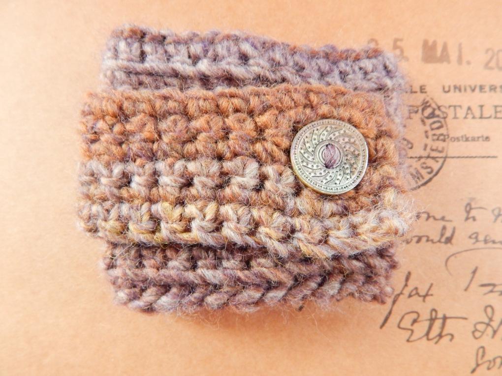 Single Strap Cuff Bracelet Free Crochet Pattern Travelling Ava
